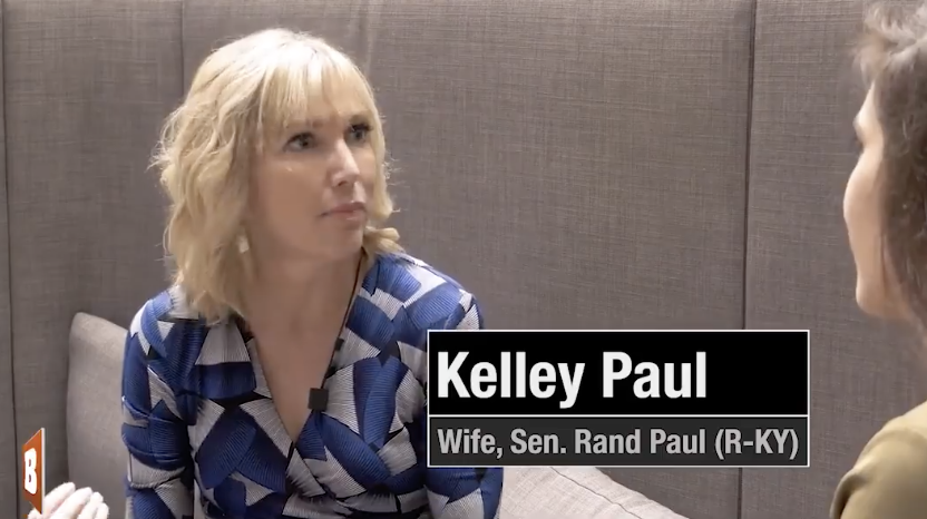 Senator Rand Paul's wife: 'I sleep with a loaded gun' (thanks to 'tolerant' left activists 'against hate'). - TPOok